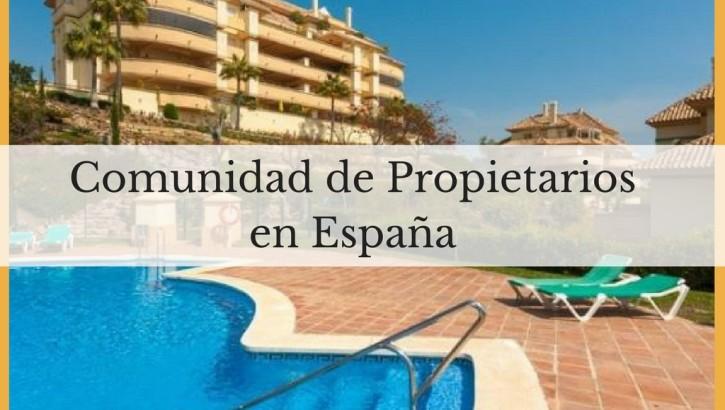 Comunidad de propietarios en España