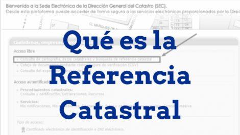 Referencia Catastral