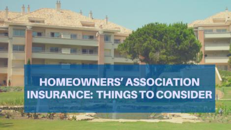 Homeowners' association insurance