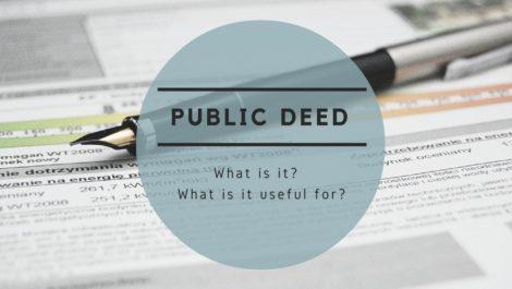 Public deed