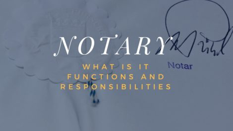 What is a notary