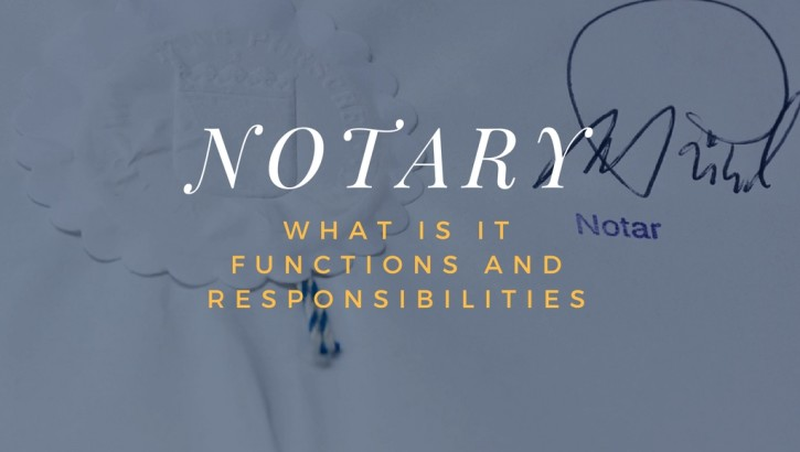 What is a Notary and what does he or she do?