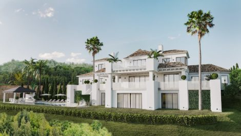 Andalusian style villa in La Zagaleta in