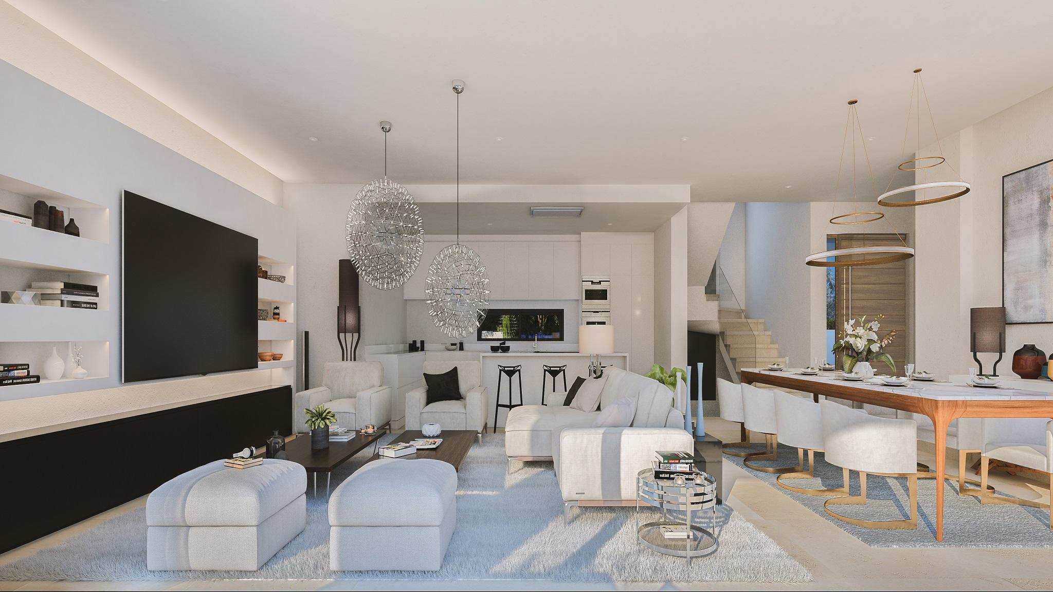 Stunning modern villa in East Marbella