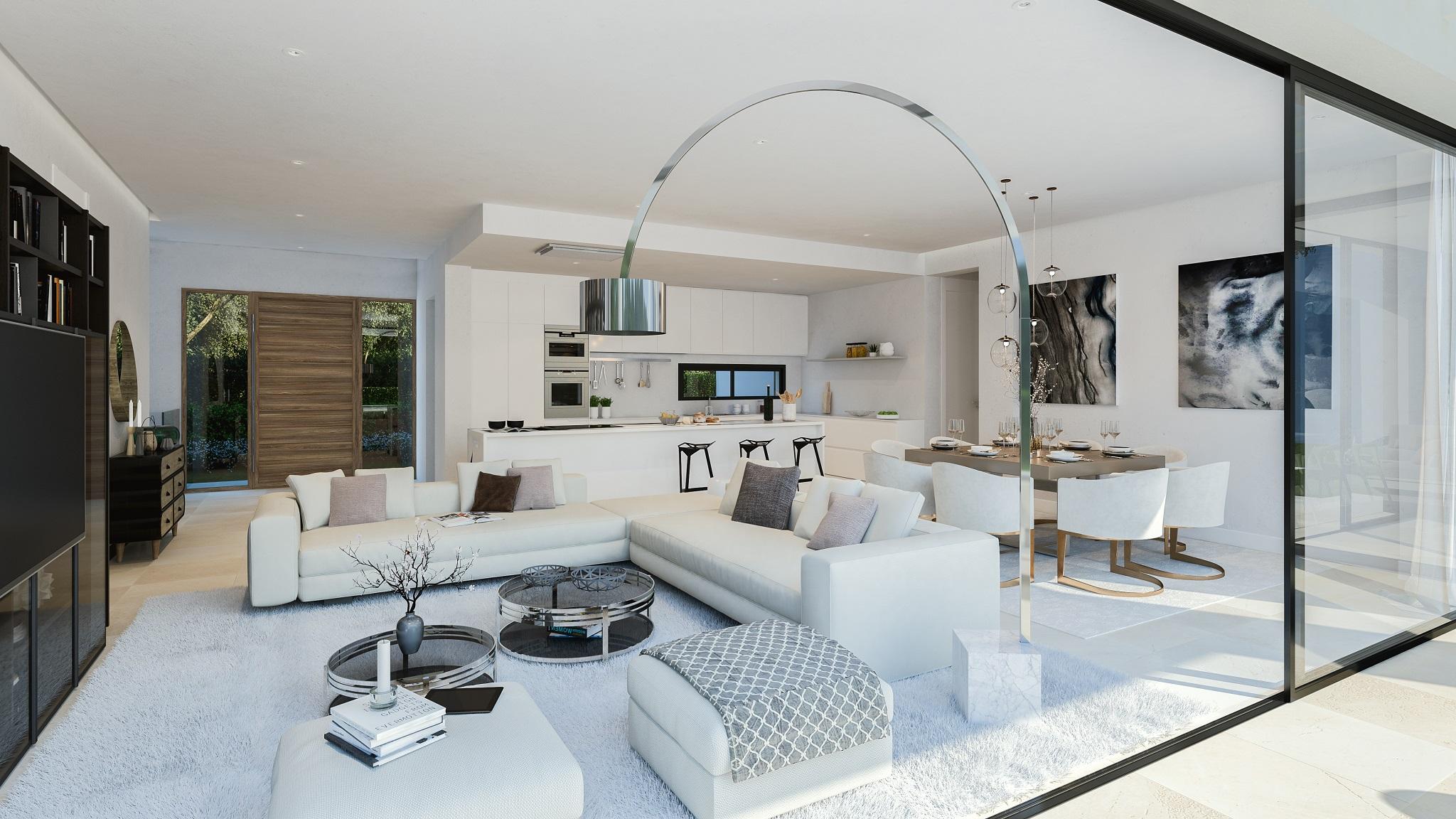 Modern villa in Cabopino