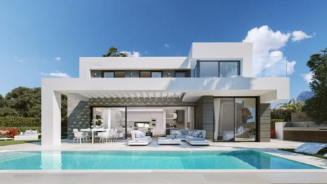 Stunning modern villa in East Marbella in