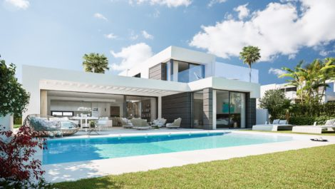 Stunning modern villa in Cabopino in