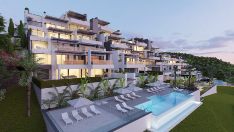 Brand new development in Benahavis