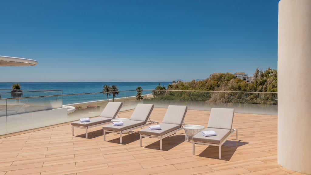 Luxurious penthouses in Estepona