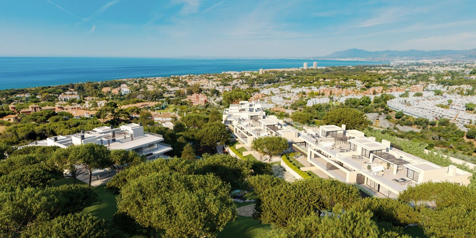 Exclusive penthouses in Cabopino