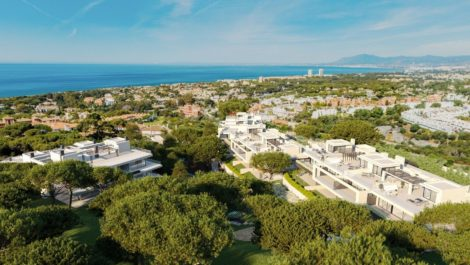 Exclusive penthouses in Cabopino in