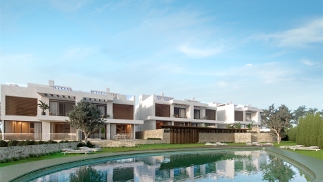 Semi detached 4 bedroom contemporary residences in Artola in