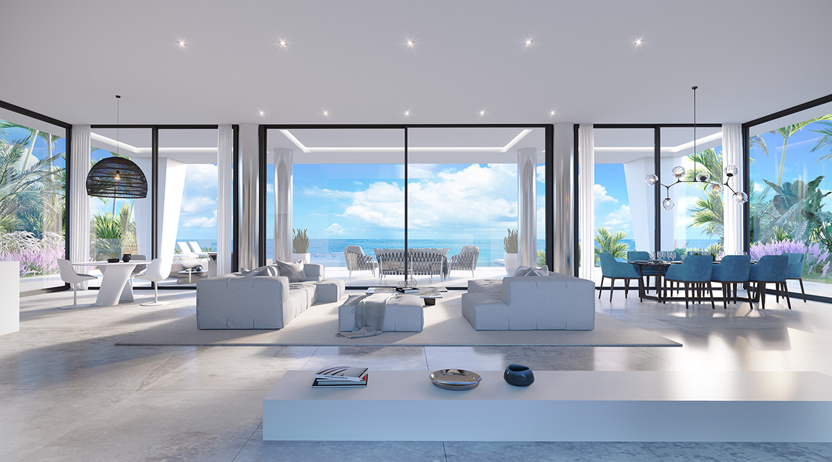 Wonderful villas for sale in Estepona