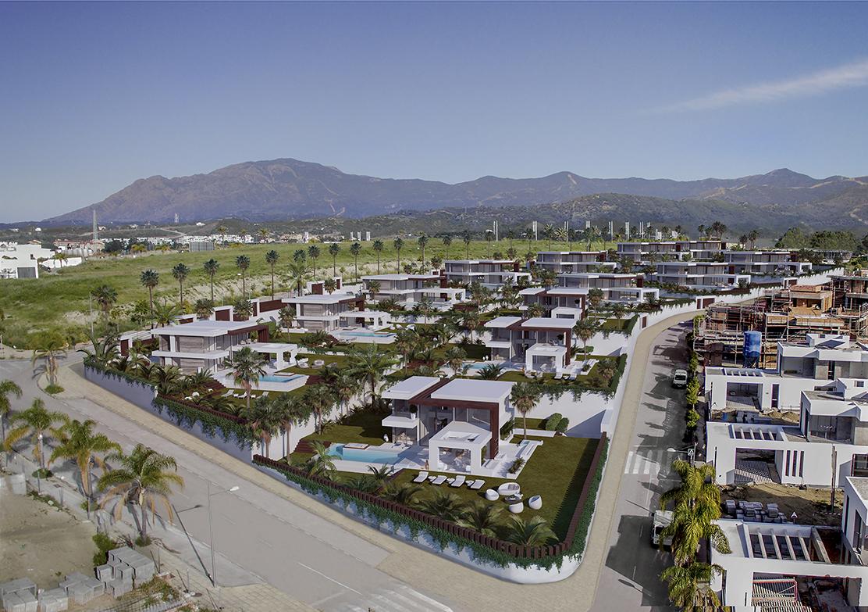 Luxury villas in the New Golden Mile