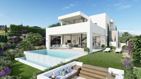 Luxury villas in the heart of Estepona Golf in