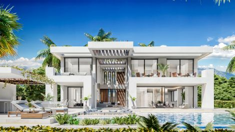 New luxury development in Estepona