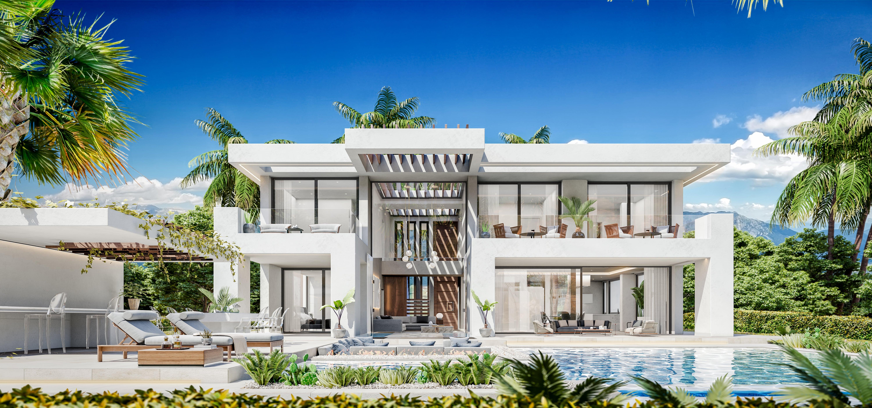 Nueva urbanización de lujo
