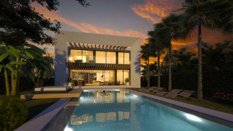 Villa de 4 dormitorios en venta en Reserva de Marbella – R3600683 en