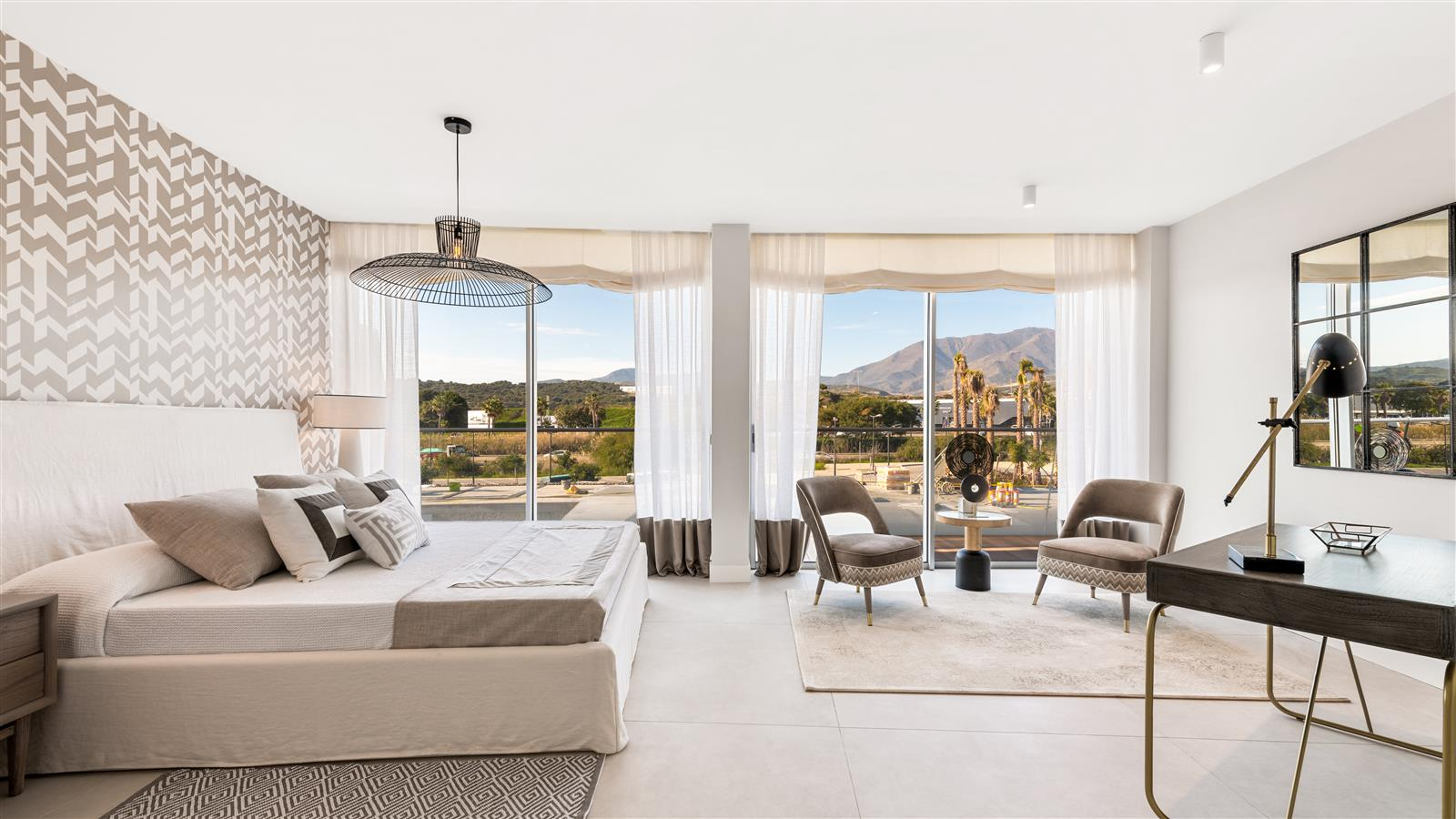 Luxurious penthouses in Estepona