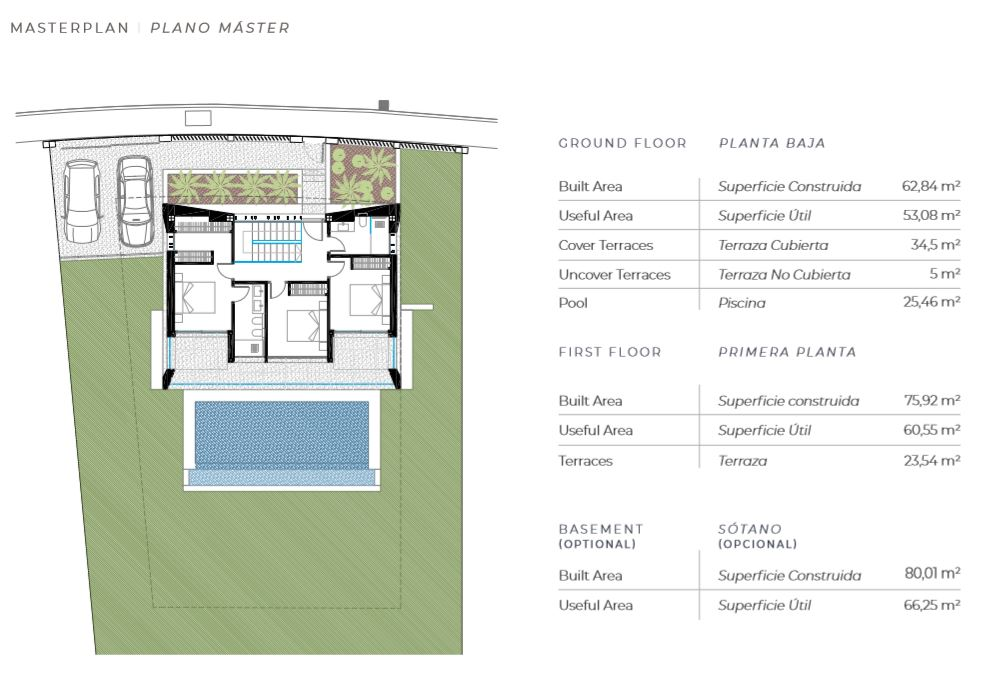 New villa development on the Costa del Sol