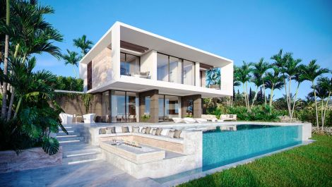 New villa development on the Costa del Sol