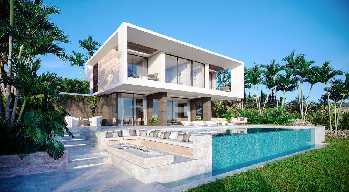 Nueva urbanización de villas en la Costa del Sol