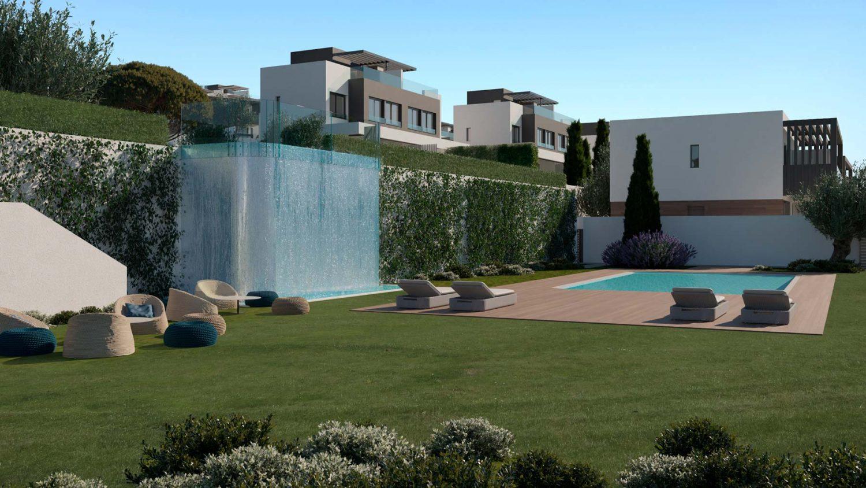 New complex of villas in Atalaya