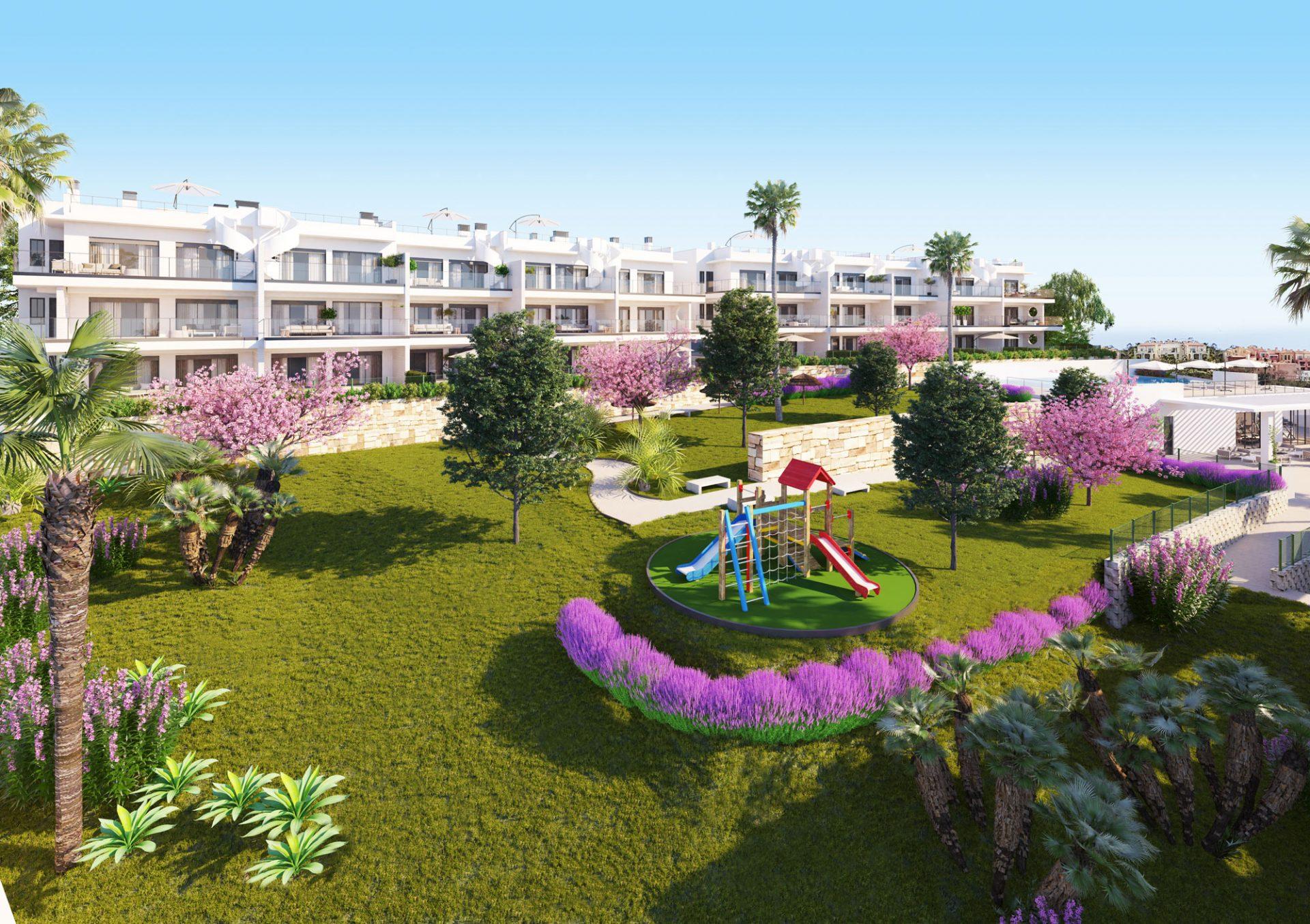 New Complex in Manilva