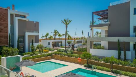Apartments in the New Golden Mile in Estepona in