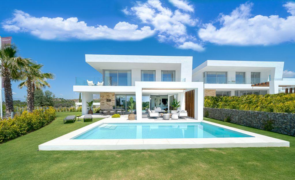 Fabulosa villa contemporánea en Santa Clara en