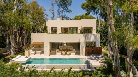 Proyecto de villa llave en mano en Los Monteros Playa, Marbella Este